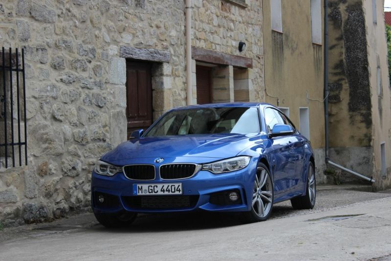 BMW 435d xdrive Gran Coupe, one of the most powerful diesel cars among other brands.